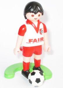 Details Zu Playmobil Fussballspieler Fussball Spieler Platte Fussball Figur 4700 Fair