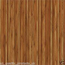 60 x Vinyl Floor Tiles - Self Adhesive - Bathroom Kitchen BN - Wooden Strips 179