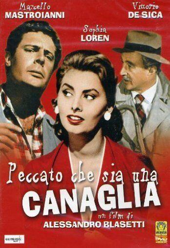 Peccato Che Sia Una Canaglia (1954) DVD