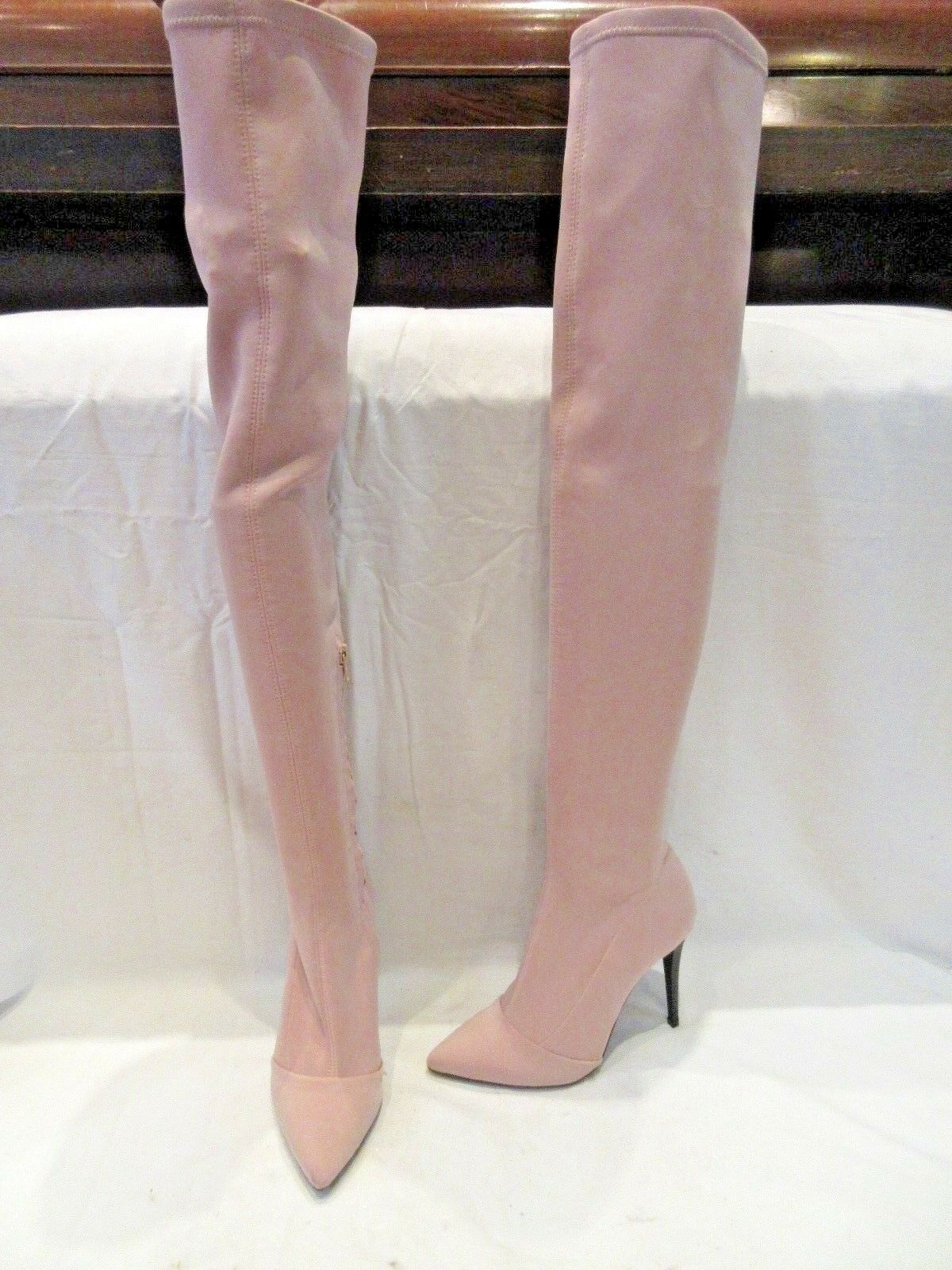 BNWD TOPSHOP STRETCH OVER THE KNEE PULL ON 37 BOOTS UK 4 EU 37 ON US 6.5 (1535) fc5af4