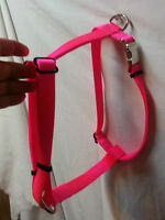 Adjustable Dog Harness Usa Made Heavy Nylon