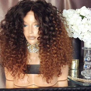 8A Ombre Human Hair Wig Full Lace Wigs Brazilian 150% Lace Front ... 792965947cd4