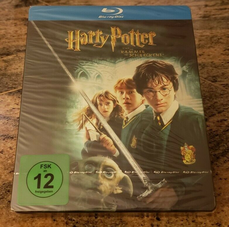 Harry Potter And The Chamber Of Secrets Blu Ray Disc 2009 Steelbook German For Sale Online Ebay