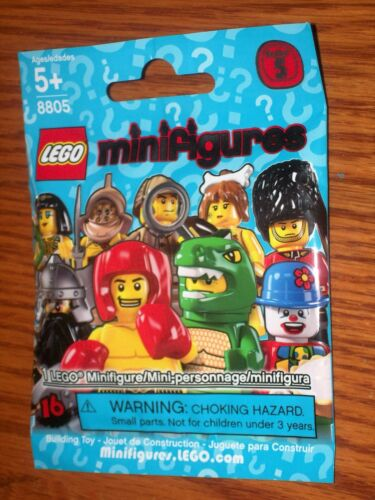 """8805 ~ THE /""""ZOOKEEPER/"""" ~ // RETIRED LEGO MINIFIGURES SERIES 5 SEALED PACK"""