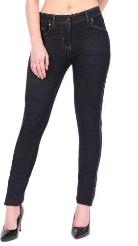 Da Donna Jeggings Donna Fit Skinny Elasticizzato Jeans Pantaloni Colorati Tg UK 8-22