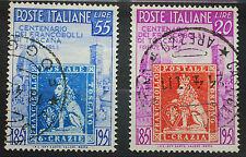 1951  ITALIA serie Francobolli di Toscana   usati