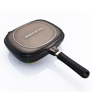 Happy-call-Double-sided-pan-pressure-Jumbo-grill-frying-pan-diamond-Happycall