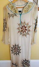 Karma Designer Silk Chiffon Heavy Embellished Pakistani Indian Shirt Kameez 2pcs