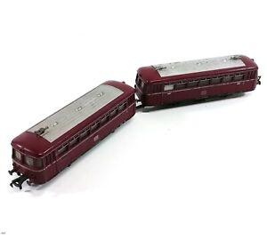 Fleischmann-HO-OO-4400-Railbus-Wagon-West-Germany-Model-Train-Vintage-652EA