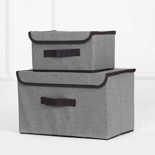 Foldable Storage Box Underwear Closet Organizer Toy Book Drawer Cube Kit AU