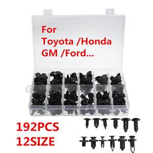 100 pcs of  ATV Retainer Clips 8mm Push Pin Splash Guard Body Panel For Honda