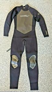 O'Neill Reactor Full Surfing Wetsuit 3:2 Summer Suit M Medium - Repair needed