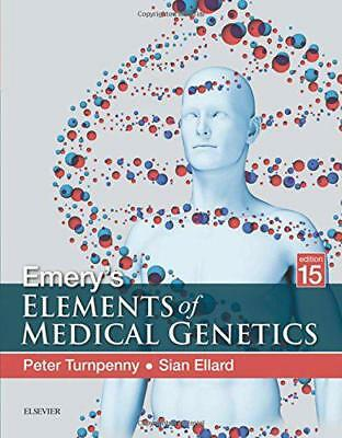 Emery's Elemente Of Medical Genetics, 15e Von Ellard Bsc Phd Mrcpath, Sian, Tur