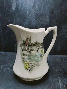 """De Colección Alfred Meakin """"inglés puentes"""" desaparecer Puente-lanzador Staffordshire Inglaterra 7"""""""
