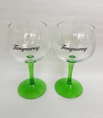 Tanqueray Gin Large Green Stemed  Balloon Glass Brand New