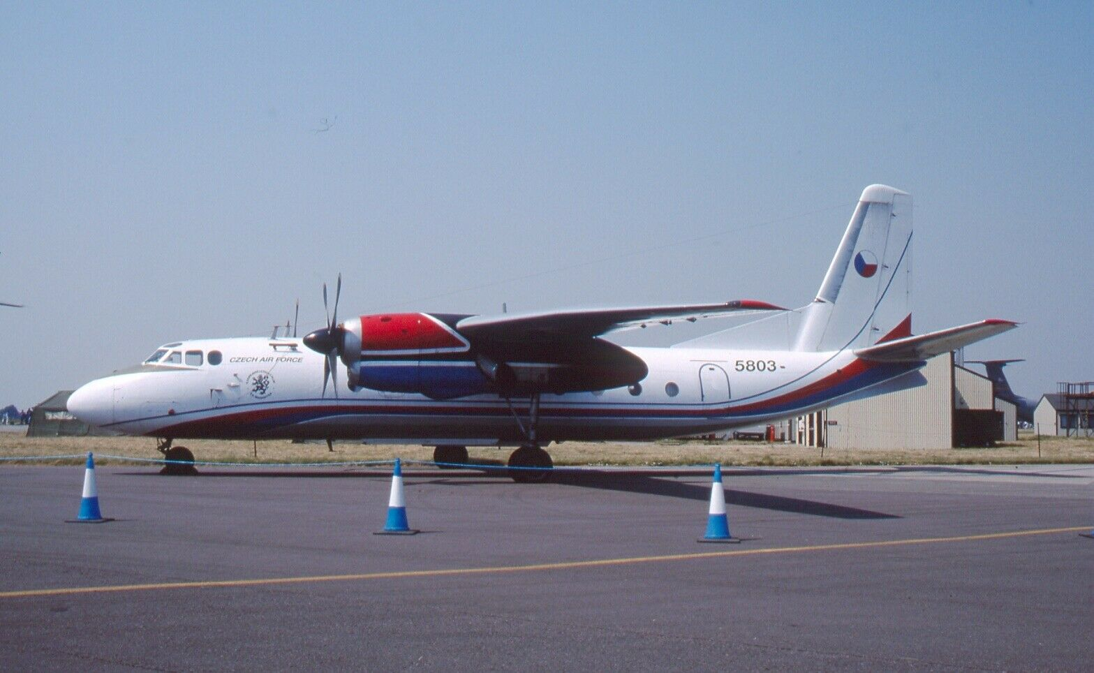 Original 35mm Aircraft slide Antonov An-24 #178
