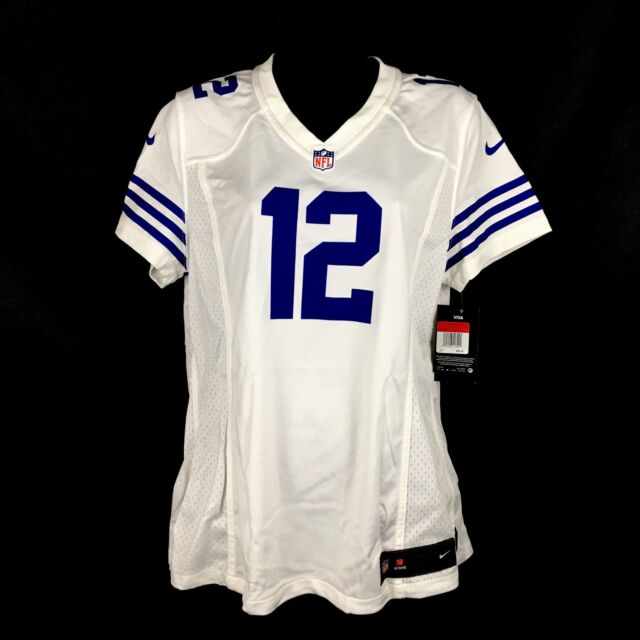 Nike Indianapolis Colts Andrew Luck 12 on Field Jersey Womens Size ... cd4b3893e