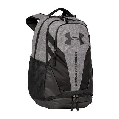 uroczy innowacyjny design sprzedaż online Under Armour Hustle 3.0 Backpack Graphite Heather UA Storm Gray Book Bag  1294720