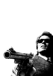 DIRTY-HARRY-Movie-PHOTO-Print-POSTER-Film-1971-Clint-Eastwood-Textless-Art-001