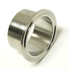 Sanitary 4 304 Stainless Long Weld Ferrule Clamp End Dairy Tri Clover Ltsan037