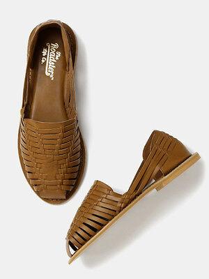 Roadster Women Interwoven Flat Shoes (FLAT 50% OFF) -DQT