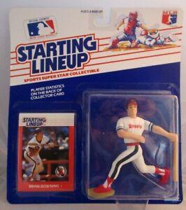 1988  BRIAN DOWNING - Starting Lineup -SLU - Sports Figurine - CALIFORNIA ANGELS