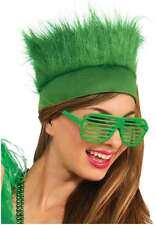 St Patrick's Day Green Furry Headband Teen to Adult Size St Paddy's Irish