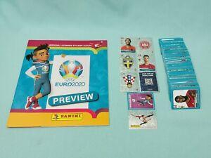 Panini-Euro-Em-2020-Preview-complet-Set-tous-les-568-stickers-album-de-scrapbooking