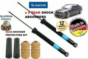 FOR-BMW-3-Serie-E46-1998-2005-2-X-Arriere-Choc-Shocker-Absorber-amp-Protection