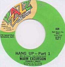 Warm Excursion - Hang Up Pt's 1&2 (Pzazz) Orig. Funk Soul Breaks 45 rpm 7 Inch