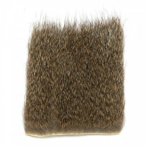 Grey Squirrel Fur Piece for making fishing flies dubbing fly tying