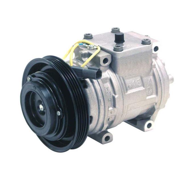 New Compressor And Clutch 471-1424 DENSO