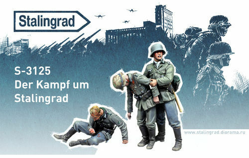 STALINGRAD GERuomo FIGHT FOR STALINGRAD 1 35 S3125