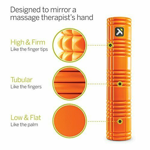 Details about  /TriggerPoint GRID Foam Roller with Free Online Instructional Videos 2.0 Orange