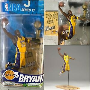 Details about Kobe Bryant Action Figure NBA Series LAKERS With Trophy McFarlane Edition Gift