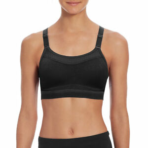c69193821c Champion 1666 Women s The Show off Sports Bra Black XL for sale ...