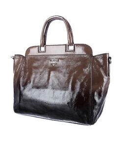 ef958a16b99b ... purchase image is loading prada glace calf ombre leather vernice  sfumato tote 362c2 fdc08