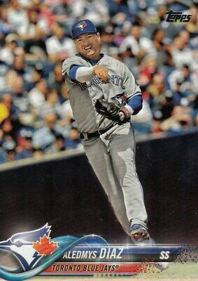 Aledmys Diaz Blue Jays #US251 Baseball 2018 TOPPS Update Series Trade Card C2343