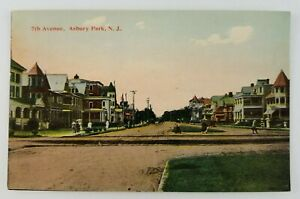 Postcard-amp-th-Avenue-Asbury-Park-New-Jersey