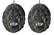 Funky KING KONG SASQUATCH EARRINGS Ape Gorilla Movie Character Costume Jewelry
