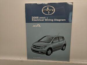 2006 Toyota Scion Xa Factory Oem Service Electrical Diagram Service Manual Ebay