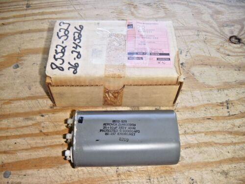Aerovox Z64R3335D 25uF 10uF 330V 60HZ Dual Run Capacitor Source-1 02624526000