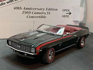 Danbury-Mint-1969-Chevy-Chevrolet-Camaro-SS-40th-Anniversary-1-24-Diecast-New