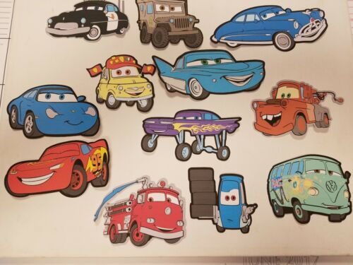 Disney's Cars printed scrapbook page die cut set #4