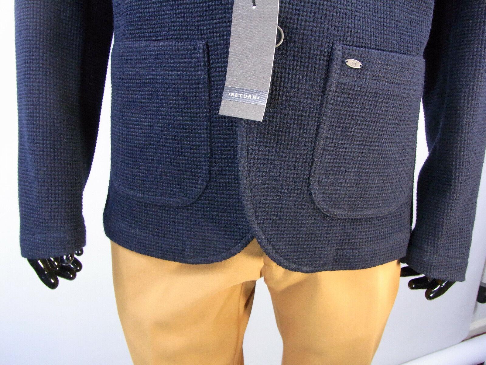 Herren Sakko Männer Sakko Return Return Return Kevin  Blau Größe 50  Model S13 | Sehen Sie die Welt aus der Perspektive des Kindes  a327b1
