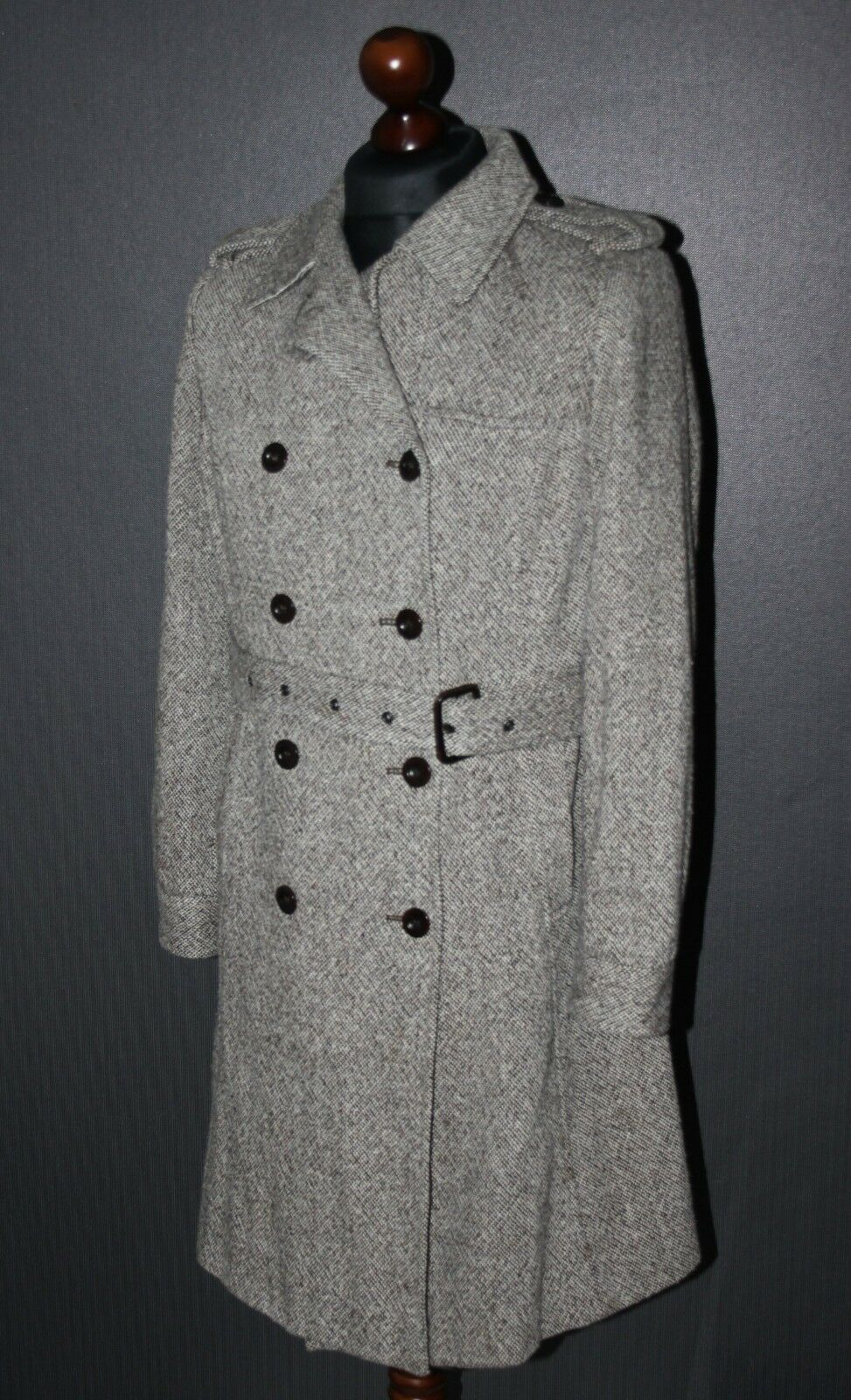 GANT 1949 Wool Trench womens coat Size L
