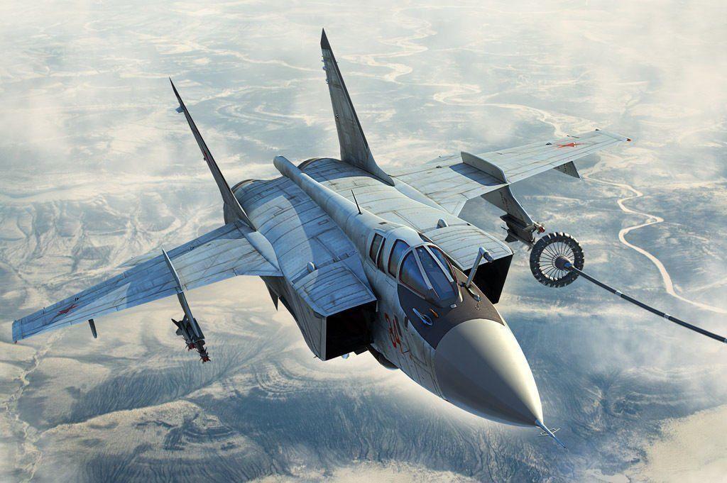 81754 Hobby Boss Russian MIG-31B BM Foxhound Interceptor Aircraft 1 48 Model Jet