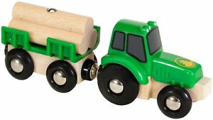 Brio-TRACTOR-WITH-LOAD-Wooden-Toy-Train-BN