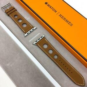 Hermes Apple Watch leather band 42mm 44mm compatible discontinued product