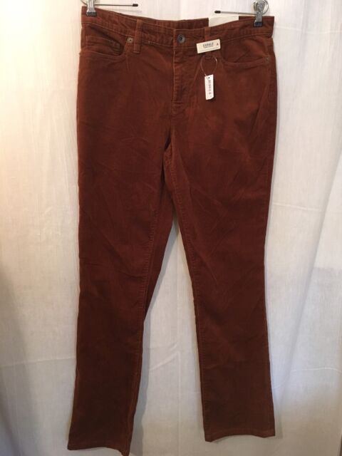 d1c4cc5c4e5 Lands End Corduroy Pants 2 Nutmeg Brown New 161119 4792255070674